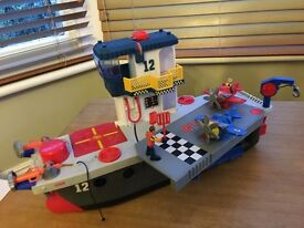 Fisher-Price Imaginext Sky Racers Carrier - excellent condition, all original parts