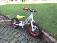 Child's balance bike. Sturdy and in good condition