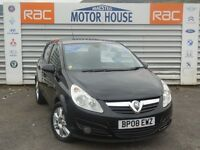 Vauxhall Corsa DESIGN (CDTI) FREE MOT'S AS LONG AS YOU OWN THE CAR!!! (black) 2008