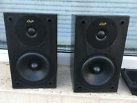 Pair Gale 3010S bookshelf speakers