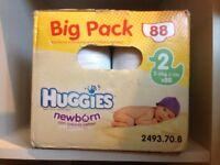 Huggies nappies