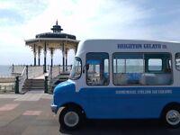Vintage Ice Cream Van for Hire
