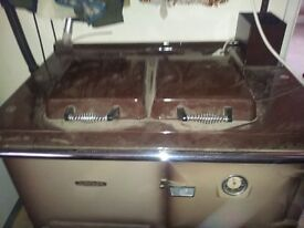 Rayburn Gas Ranger Cooker and Central Heating Boiler