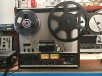 Teac A330sx 2 track high speed tape recorder