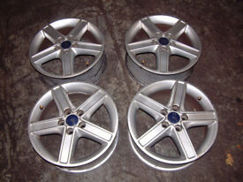 Ford Focus 16 Inch Titanuim Alloy Wheels