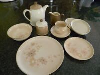 Denby Maplewood dinner set in great condition - now discontinued