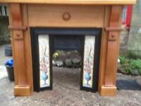 Maghogany fireplace for sale