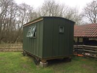 Beautiful Hand crafted cosy Shepherds Hut