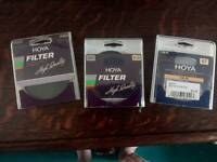 Nikon/cannon/hoya camera filters
