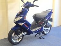 STUNNING PEUGEOT SPEEDFIGHT 100cc PROST EDITION LIKE NEW UK DELIVERY