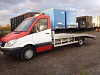 2008 mercedes sprinter recovery 313cdi lwb alloy body