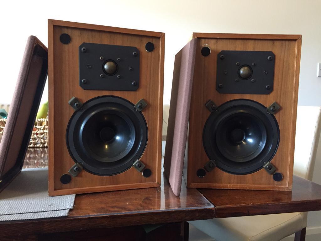 Ram Mini Bookshelf Monitor Speakers