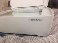 HP 3630 Deskjet All-in-One Wireless, Inkjet Colour Printer, A4 - White