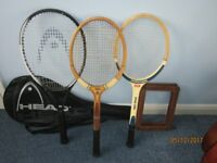 Head Tennis Racket and 2 Others
