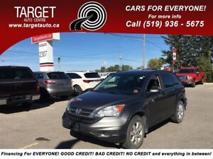 2011 Honda CR-V LX, 4wd, 4Cyl Great on Gas and More !!!!