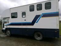 Volvo horse lorry