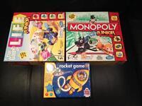 Kids board games