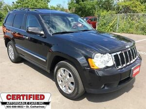 2010 Jeep Grand Cherokee Limited ** 4X4, HTD SEATS, BACKUP CAM *