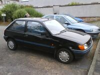 FORD FIESTA. 3 Door Hatchback , Black