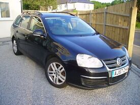 VOLKSWAGEN GOLF SE TDI 105 ESTATE - PRICED TO SELL -GREAT MPG & SERVICE HISTORY