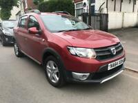 2014 DACIA SANDERO STEPWAY AMBIANCE 1.5 DCI DIESEL. 2 OWNERS FROM NEW. £20 ROAD TAX. 40000 MILES.