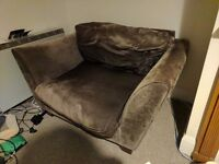Snuggle Chairs. Two person arm chair