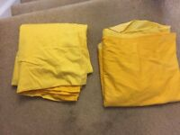 Two Tone Yellow Curtains