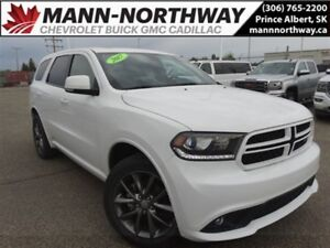 2017 Dodge Durango GT | Navigation, Leather, Remote Start, AWD.