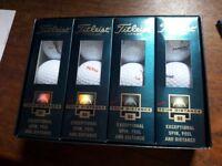 unused pack of 12 TITLEIST Golf Balls