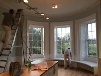 Professional interior and exterior decorating for West Lothian homes and businesses