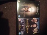 The twilight saga DVD box set