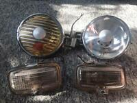 Lights for a car