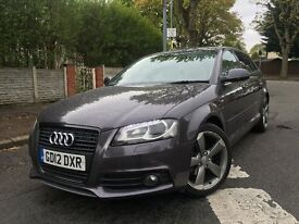 2012 [12] Audi A3 2.0 TDI Black Edition S Line 140 Stop/Start 5 door Sportback 8P A1 A4 A5 GOLF LEON
