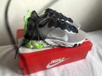 Nike React Element 55 Silver/Volt green