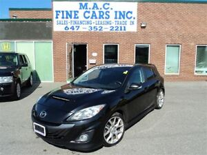 2011 Mazda Mazdaspeed3 6 SPD - CERTIFIED & E-TESTED