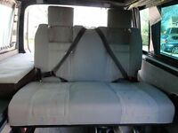 VW INCA pattern RIB seat / bed / rock & roll / camper