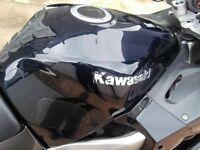 Kawasaki ZZR1200 Fuel Tank Petrol Black 2004 £100. 07870516938