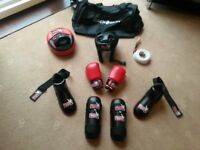 boys martial art equipment age 8 to 10 - Full Set