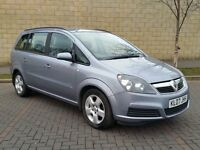 07 Vauxhall Zafira 1.8 I 16V Club 5dr - 7 SEATER - LONG MOT - FSH - RECENT TIMING BELT