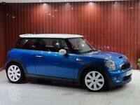08 Mini Cooper S - In Lightning Blue - F.S.H - HPI CLEAR - 1 former keeper - PX WELCOME