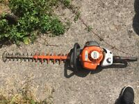 "Stihl HS82RC Swivel Handle Professional Petrol Hedgetrimmer 30"" bar"