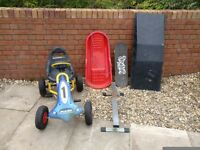 Go-cart, Sledge & Skateboard kit