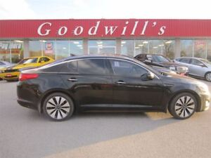 2012 Kia Optima SX TURBO! HEATED LEATHER SEATS! SUNROOF!