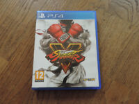 PS4 Street Fighter Game