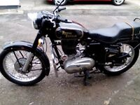 Royal enfield 350 bullet beautiful condition 12 months mot. 2005. 7000miles