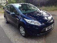******FORD FIESTA EDGE 1.2 2011 IN STUNNING BLUE . 29,00 GENUINE MILES LAST SERVICE AT 22.969 *****
