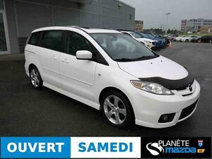 2007 MAZDA 5 GT 6 PASSAGERS CRUISE TOIT
