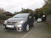 Mazda 5 Furano II special addition. 7 Seater very high spec with sport kit. BARGAIN!!