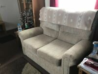 Sofa & 2 arms chairs - excellent condition. From smoke and pet free home. Collection only.
