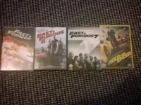 fast and furious 1-7,need for speed dvd